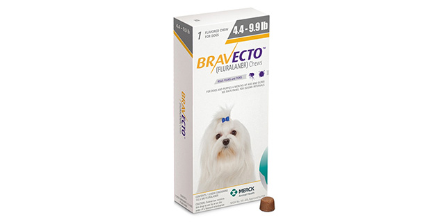 Таблетки Бравекто