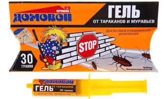 Гель от тараканов Домовой - описание, фото, отзывы